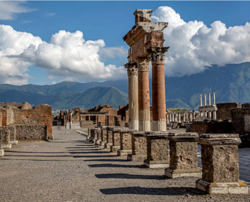 Pompeii and Vesuvius tours