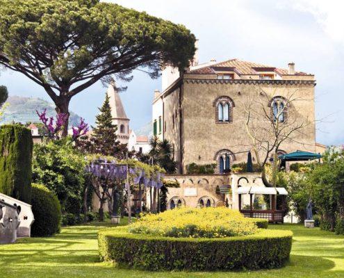 Campania: Villa Cimbrone in Ravello