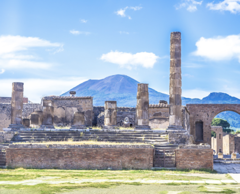 Pompeii and Vesuvius tour